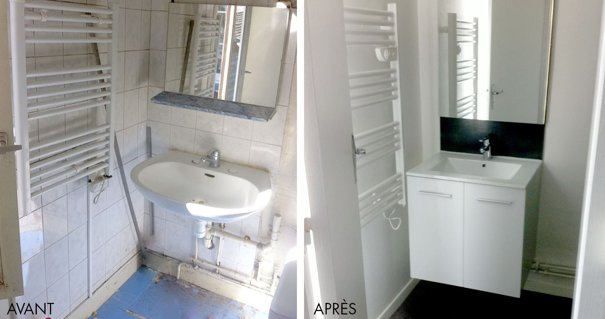 Best renovation salle de bain le mans gallery amazing for Salle de bain 1m de large